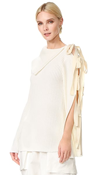 Monse Off the Shoulder Sweater - Ivory