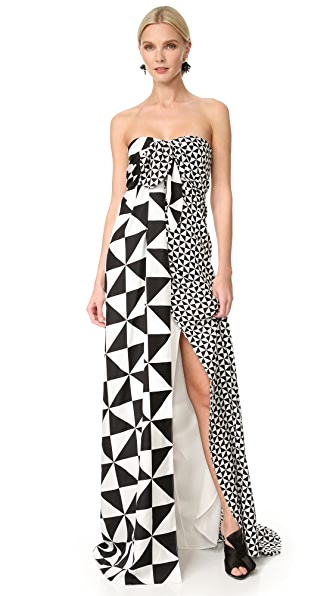 Monse Multi Geo Gown