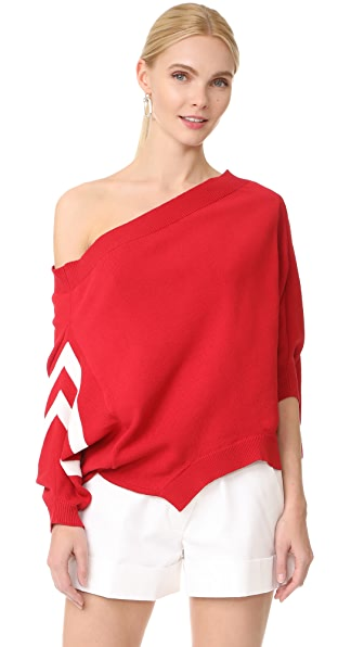 Monse One Shoulder Sweater