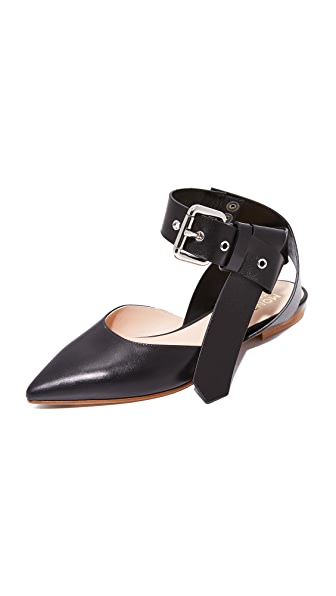 Monse Ankle Strap Flats