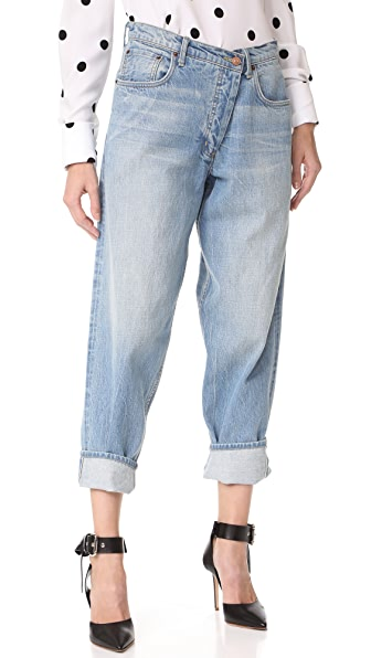 Monse Jeans In Rinsed Blue