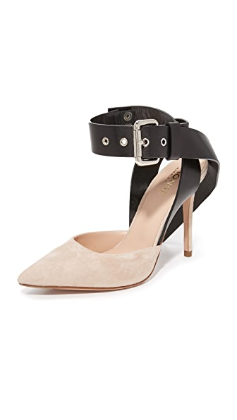 Monse Suede Heels womens shoes online sales