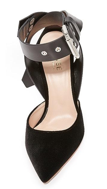 Monse Velvet Heels