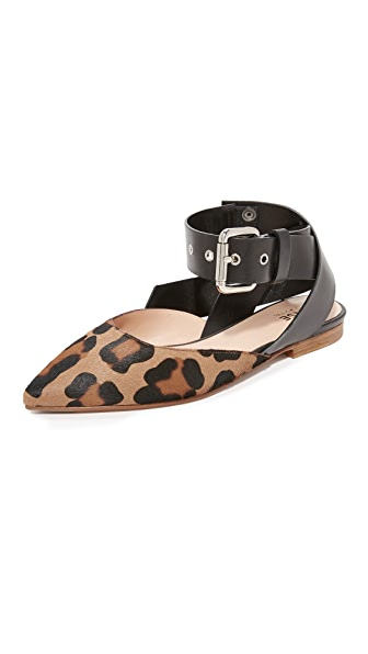 Monse Haircalf Flats womens shoes online sales