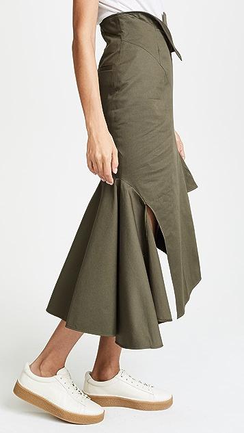 Monse Ruffle Skirt