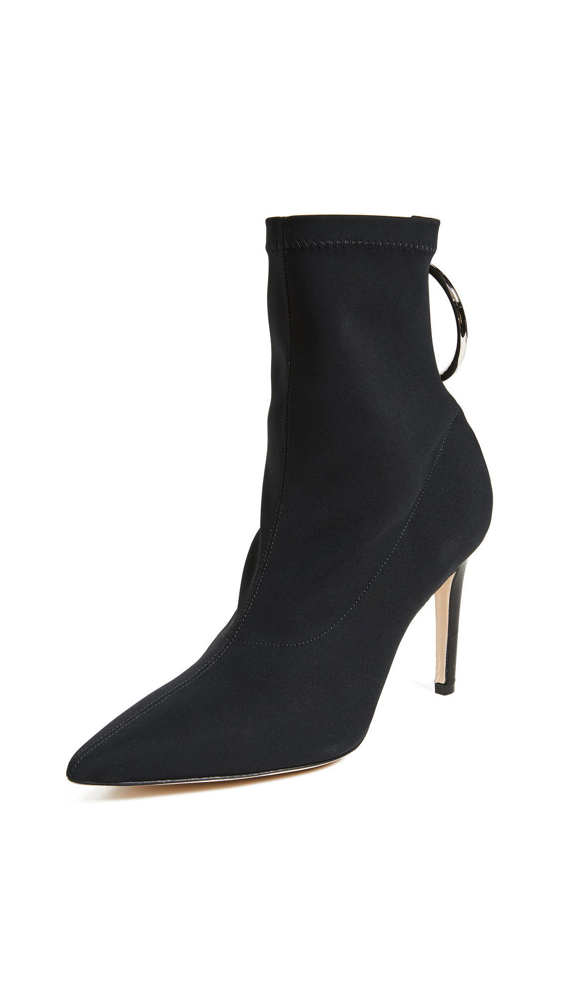 Monse Stretch Scuba Booties - Black