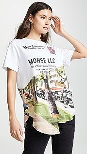 Monse Torn Scenic 衬衣下摆