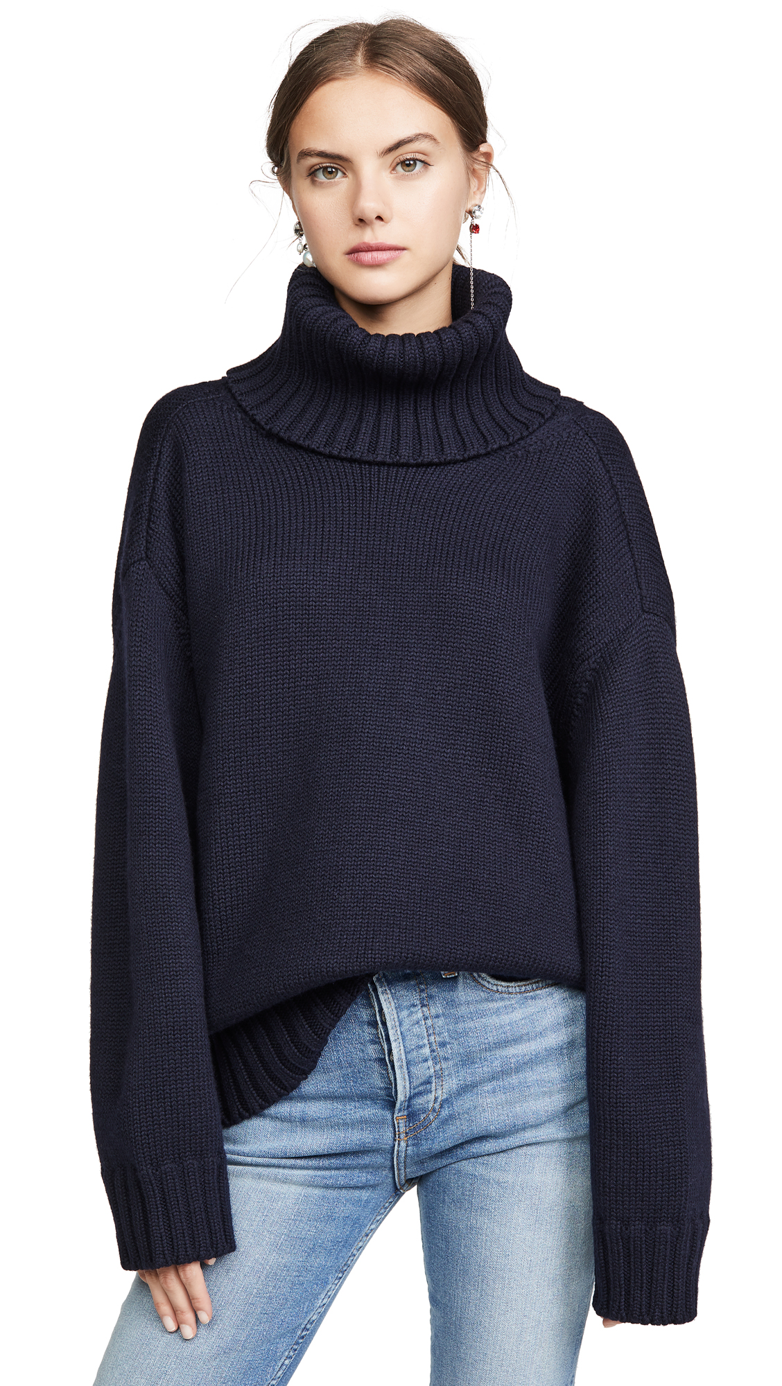 Buy Monse online - photo of Monse Open Back T Neck Sweater