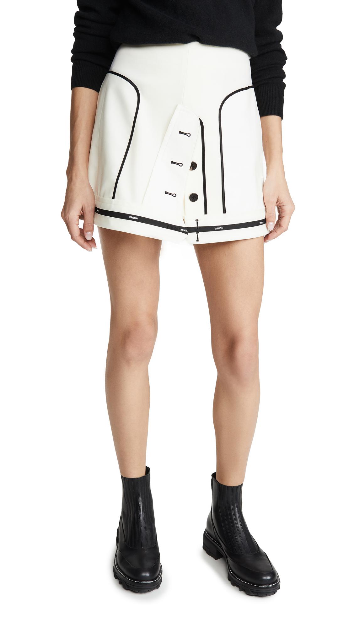 Buy Monse online - photo of Monse Inverted Miniskirt
