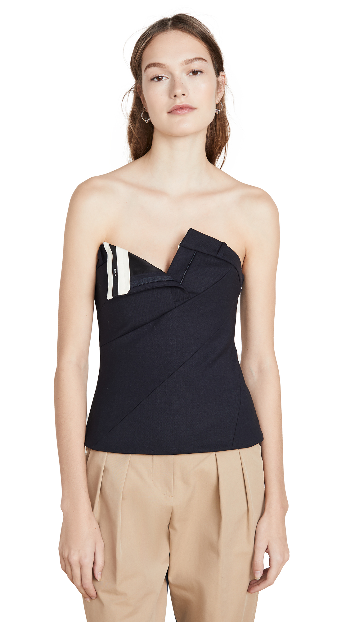 Buy Monse online - photo of Monse Twisted Pants Bustier