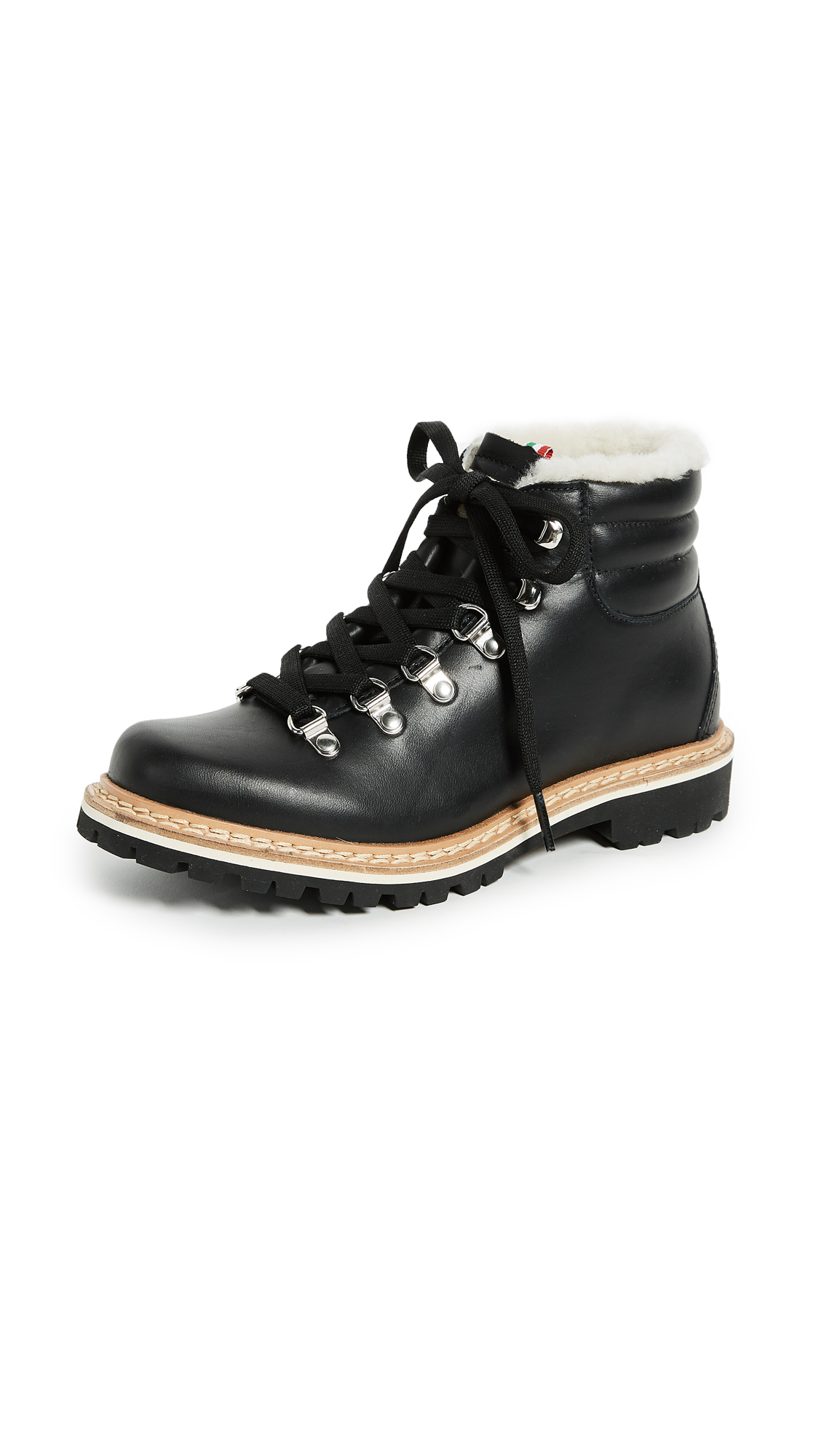 Montelliana Margherita Hiker Boots - Black