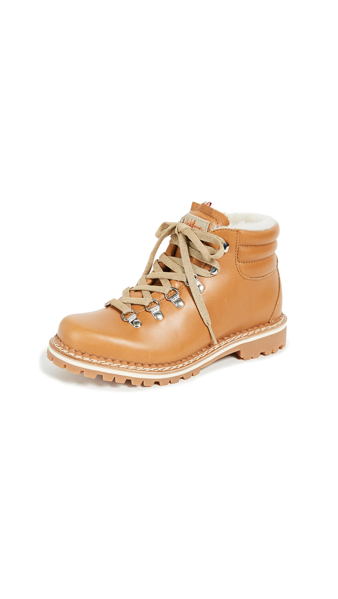 Montelliana Margherita Hiker Boots - Tan