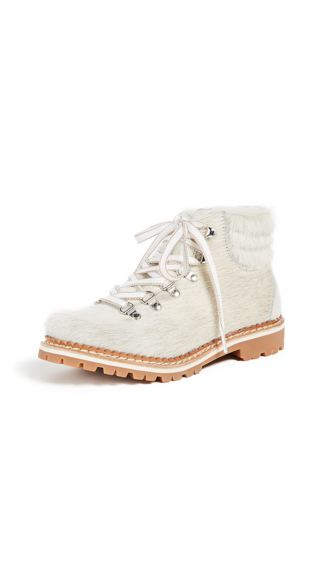 Montelliana Margherita Hiker Boots - White
