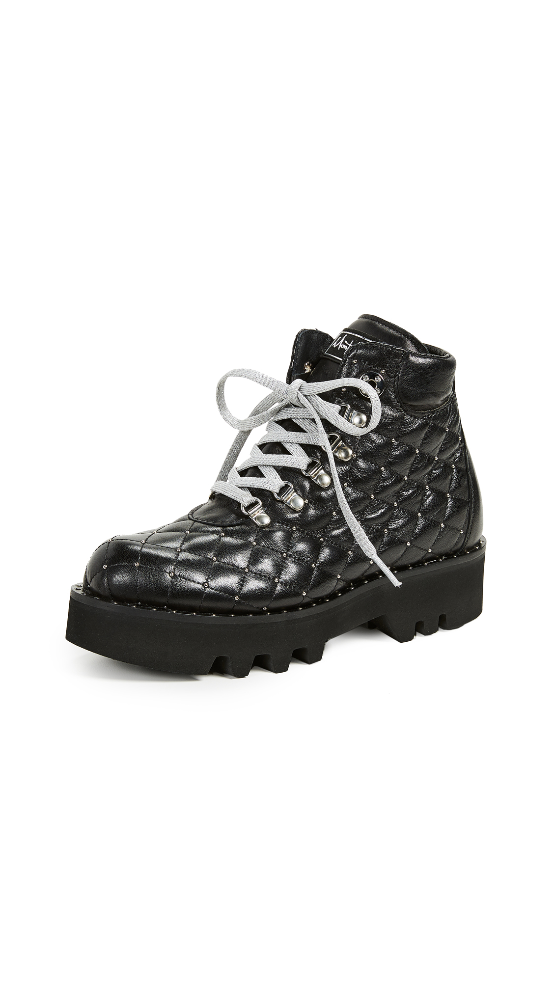 MONTELLIANA Bluma Hiker Boots in Black