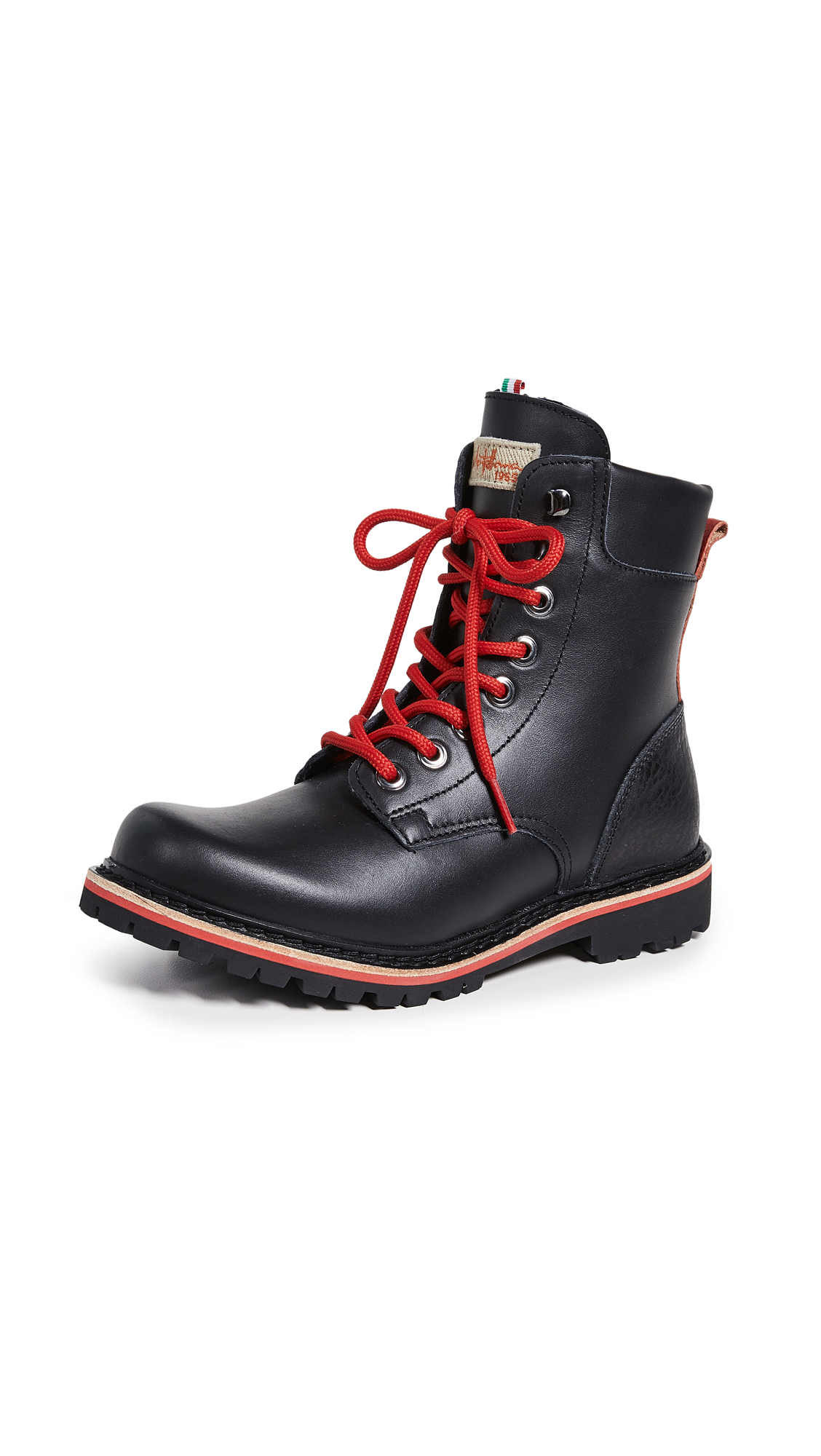 MONTELLIANA Eva Hiker Boots in Black