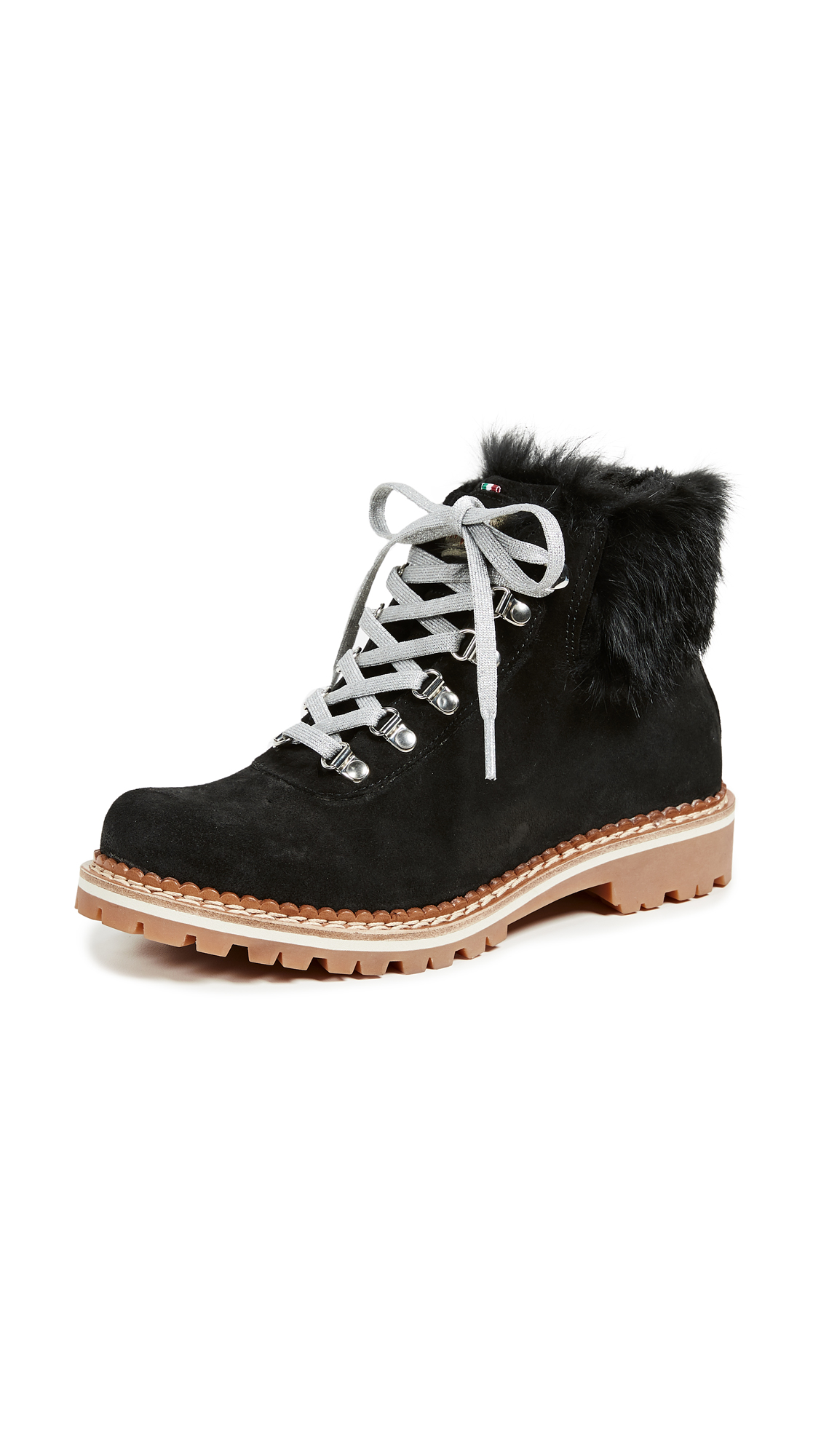 MONTELLIANA Clara Hiker Boots in Black