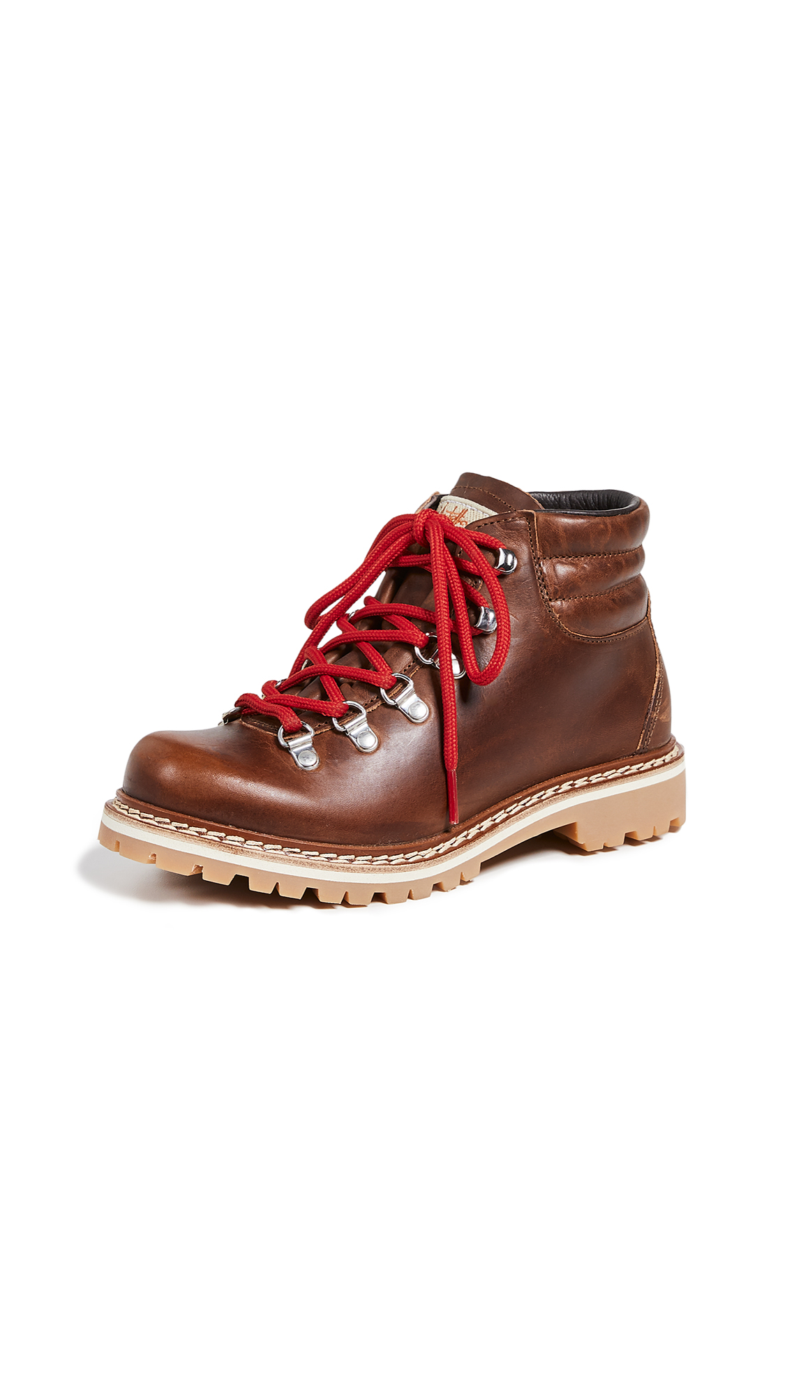 MONTELLIANA Margherita Hiker Boots in Brown Benson