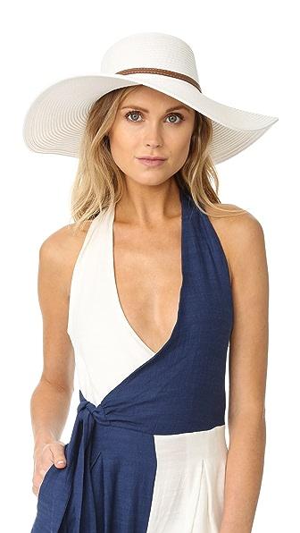 Melissa Odabash Jemima Hat - White