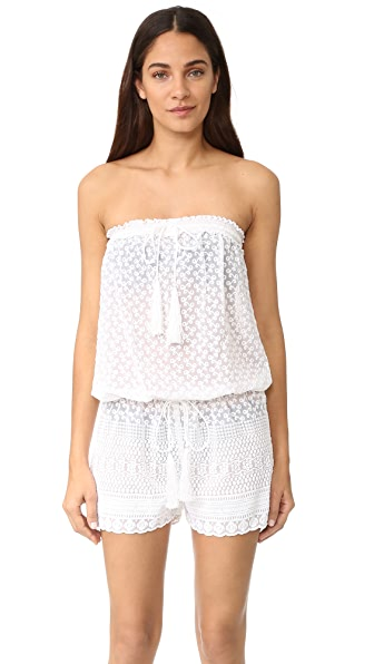 Melissa Odabash Everley Romper In White