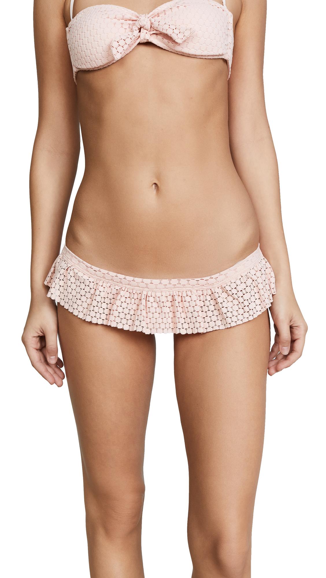 Melissa Odabash India Crochet Bikini Bottoms