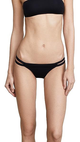 Melissa Odabash St Lucia Bikini Bottoms In Black