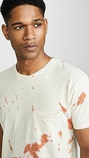 Mollusk Tie Dye Hemp Pocket T-Shirt