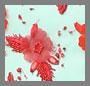 Seafoam/Red