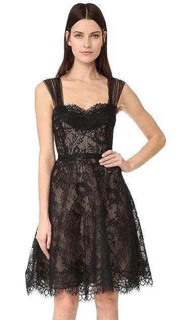 Monique Lhuillier Lace Dress