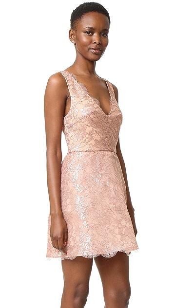 Monique Lhuillier Sleeveless Structured Dress