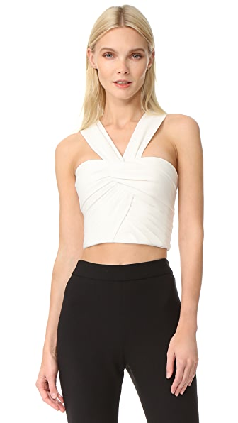 Monique Lhuillier Crop Top