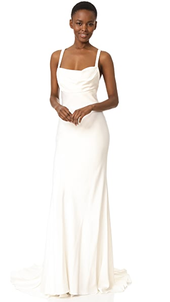 Monique Lhuillier Sheath Gown