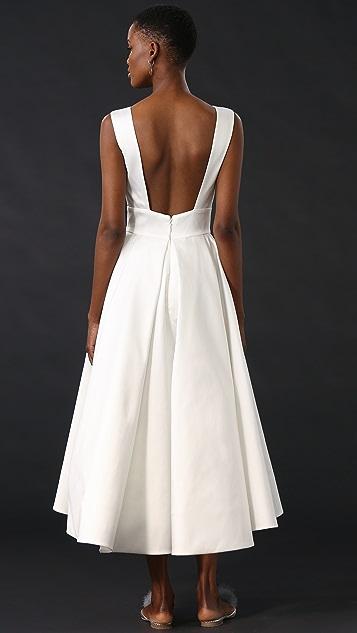 Monique Lhuillier Tea Length Gown