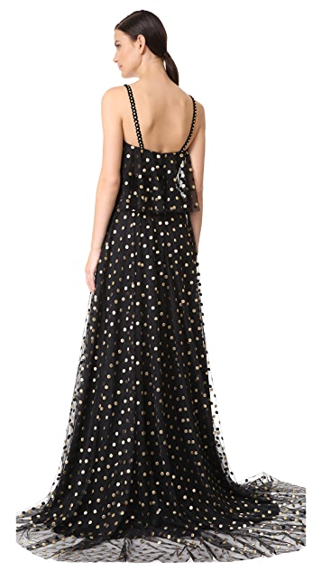 Monique Lhuillier Camisole Gown
