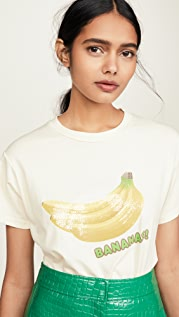 Monogram Sequin Banana Tee