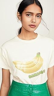 Monogram 亮片香蕉 T 恤