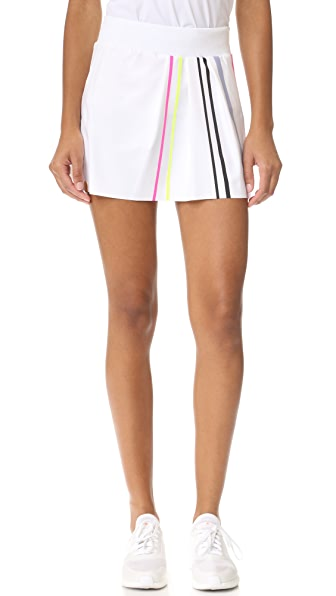 Monreal London Front Pleat Tennis Skirt