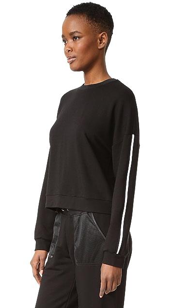 Monreal London Cropped Sweatshirt