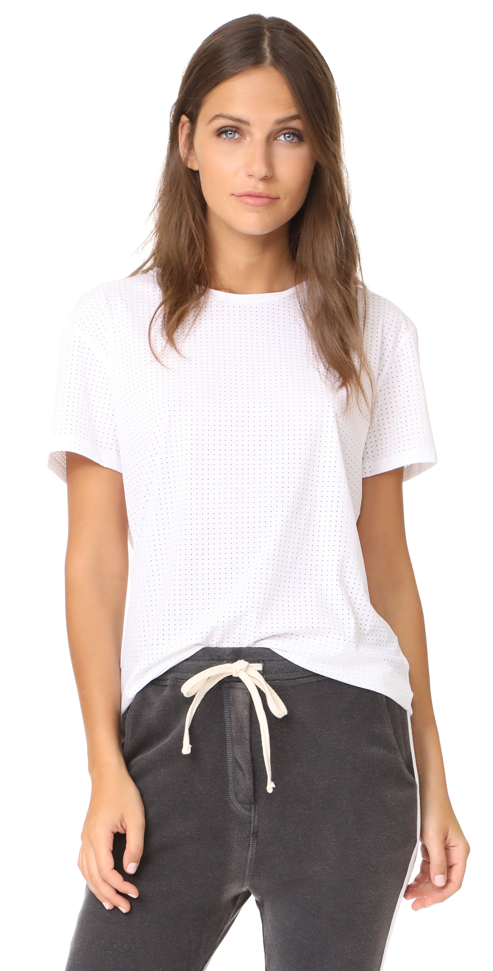 Easy Perforated Tee Monreal London