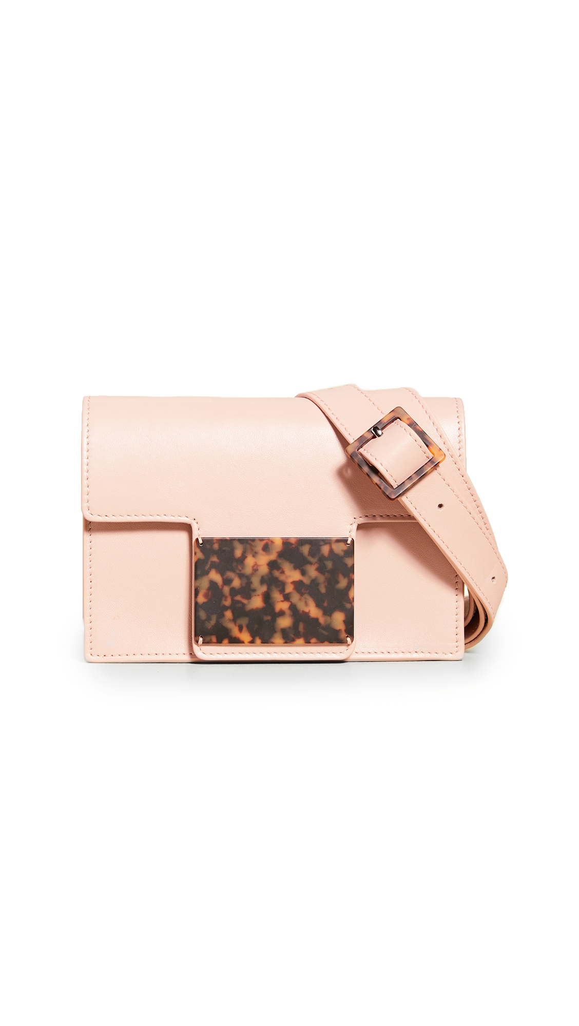 Montunas Cala Convertible Belt Bag In Blush
