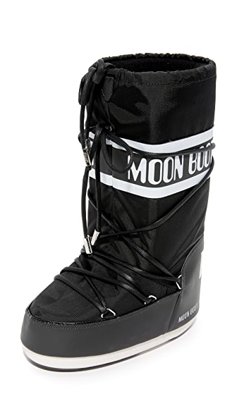 Moon Boots MSGM x Moon Boots Classic MI Boots - Black/White