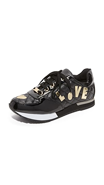 Moschino Love Moschino Sneakers - Black at Shopbop