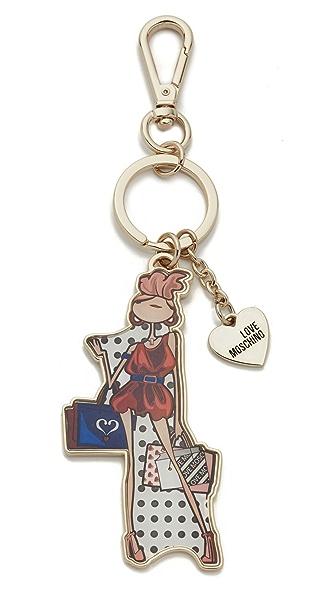 Moschino Love Moschino Keychain - Multi at Shopbop