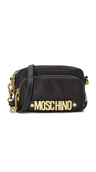 Moschino Moschino Shoulder Bag - Black at Shopbop