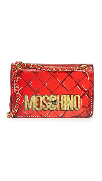 Moschino Moschino Shoulder Bag - Red at Shopbop