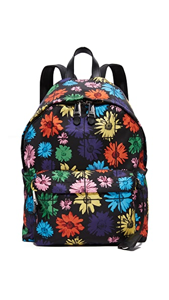 Moschino Floral Backpack - Black Multi at Shopbop