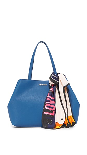 Moschino Love Moschino Tote - Blue at Shopbop