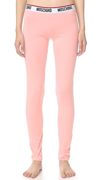 Moschino Sweatpants - Rosa at Shopbop