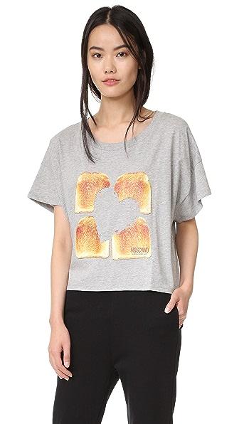 Moschino Toast T-Shirt - Grey at Shopbop