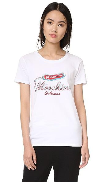 Moschino Moschino T-Shirt - Bluette at Shopbop