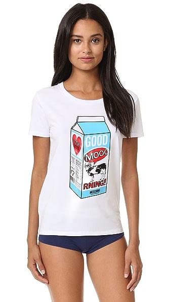 Moschino Moschino T-Shirt - White at Shopbop
